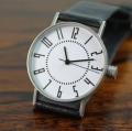 【グッドデザイン賞受賞!五十嵐 威暢 氏!究極のベーシックデザイン!】 eki watch 37mm white dial