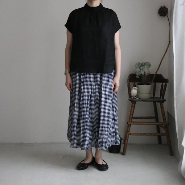 ST091  veritecoeur シャーリングスカート 3色