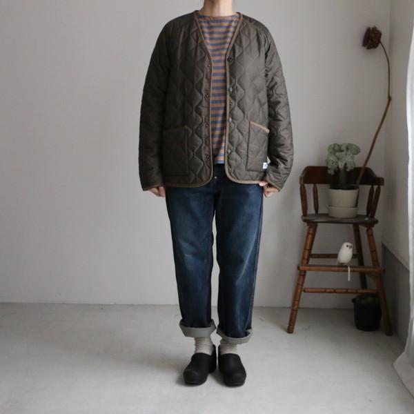 NAM1754 ARMEN v neck jacket 2色 サイズ展開あり