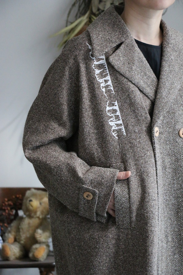 x013 mudoca ときの侵食 オーバーコート
