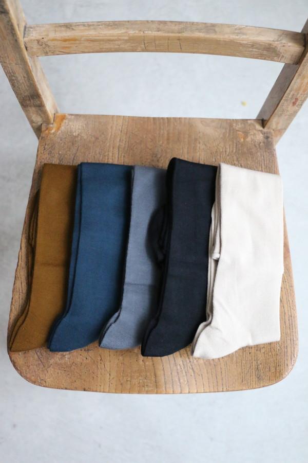 vcs37 veritecoeur Roll-hem long Socks 5色