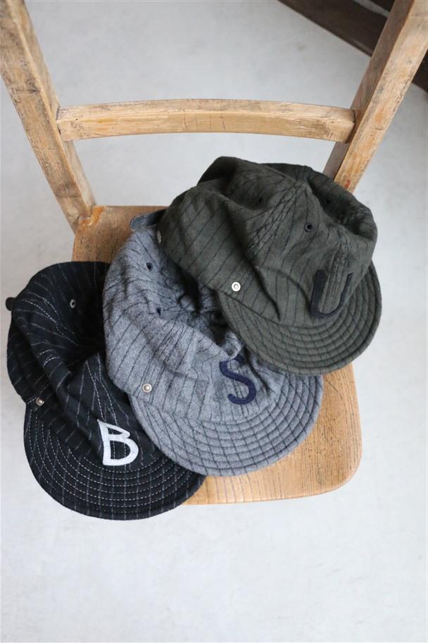 10-1AD18 DECHO BALL CAP STRIPE 3色