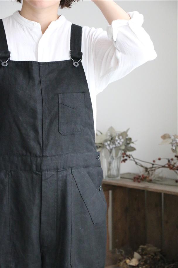 UBP006 Own GArment Products オーバーオールII ブラック