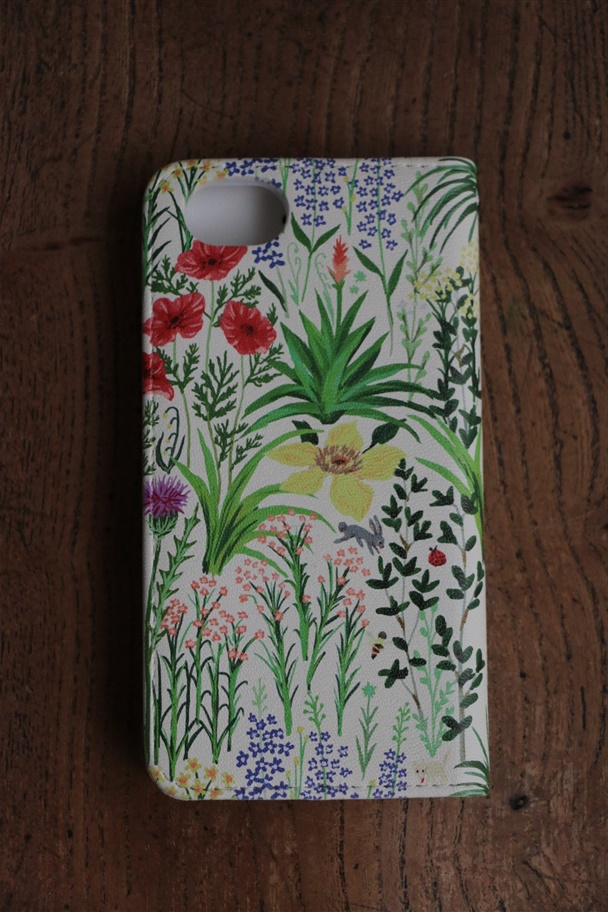 099S049169 marble SUD i phone CASE NB-type Wildflower