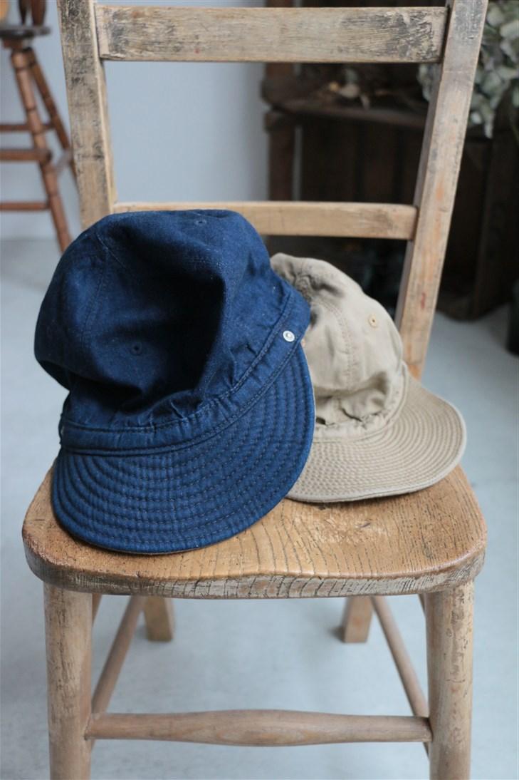 d-01 DECHO KOME CAP 2色