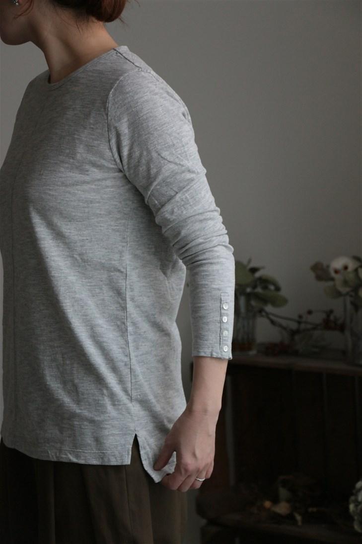 <SALE>UT180CT005 UNIVERSAL TISSU ヴィンテージデラヴェセンターラインTシャツ 2色