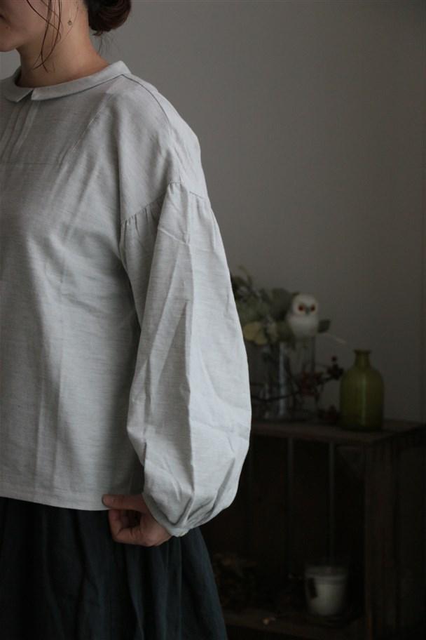 <SALE>72141 FABRIQUE en planete terre sister blouse 2色