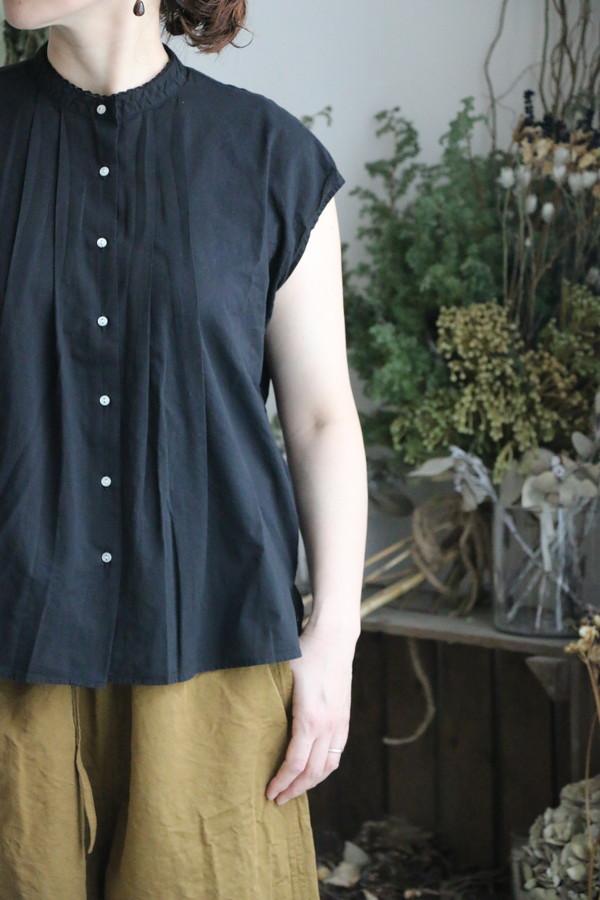 91160 FABRIQUE en planete terre blouse n/s with lace