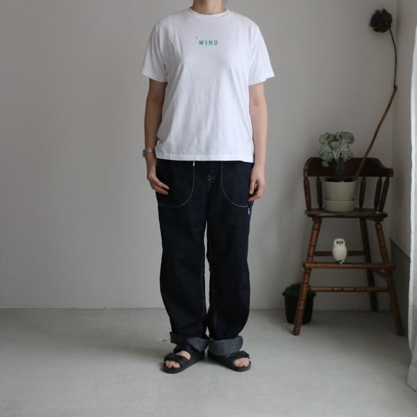 02P-38 快晴堂デニム ステッチポケットパンツ M