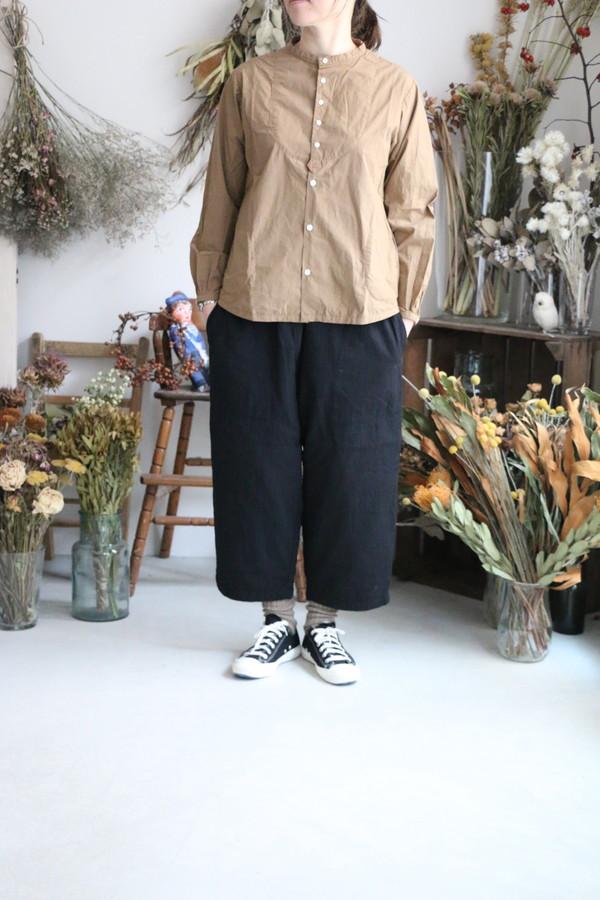 01S-16 快晴堂 タイプライタークロス パジャマシャツ 3色