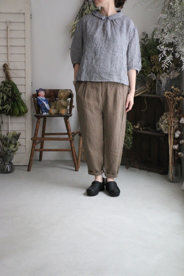 <SALE>UT190PT039 UNIVERSAL TISSU  おじパンツ