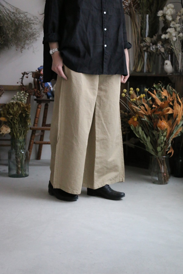 NHT1713CL HTS easy pants 2色
