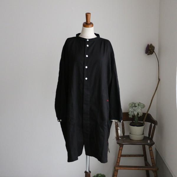 03S10 快晴堂 コットンWOOLビエラアトリエ長袖シャツ 2色
