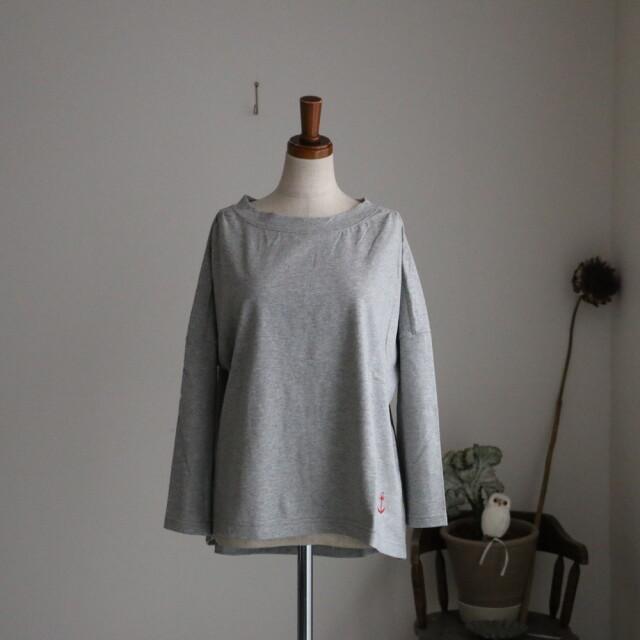 11C-28 快晴堂 Girl's天竺 7分袖ギャザーTシャツ 3色