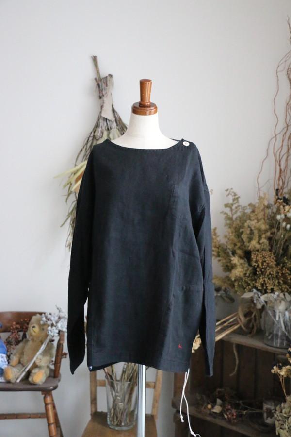 <SALE>93S-42B 快晴堂 ジャパンリネンツイル起毛 UNI Tシャツ
