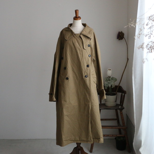 NHT2052DT HTS COTTON DOUBLE OVER COAT