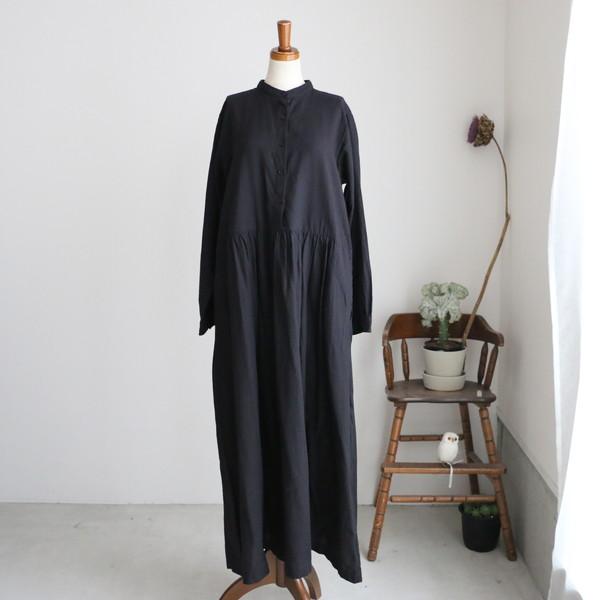 NSL19573  soil  banded collar dress