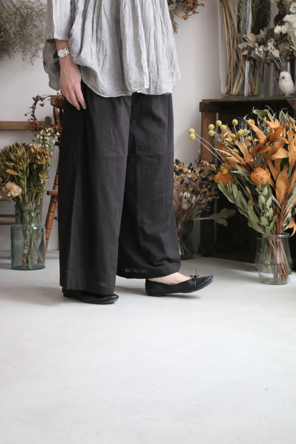 INMDS20104 maison de soil easy pants black