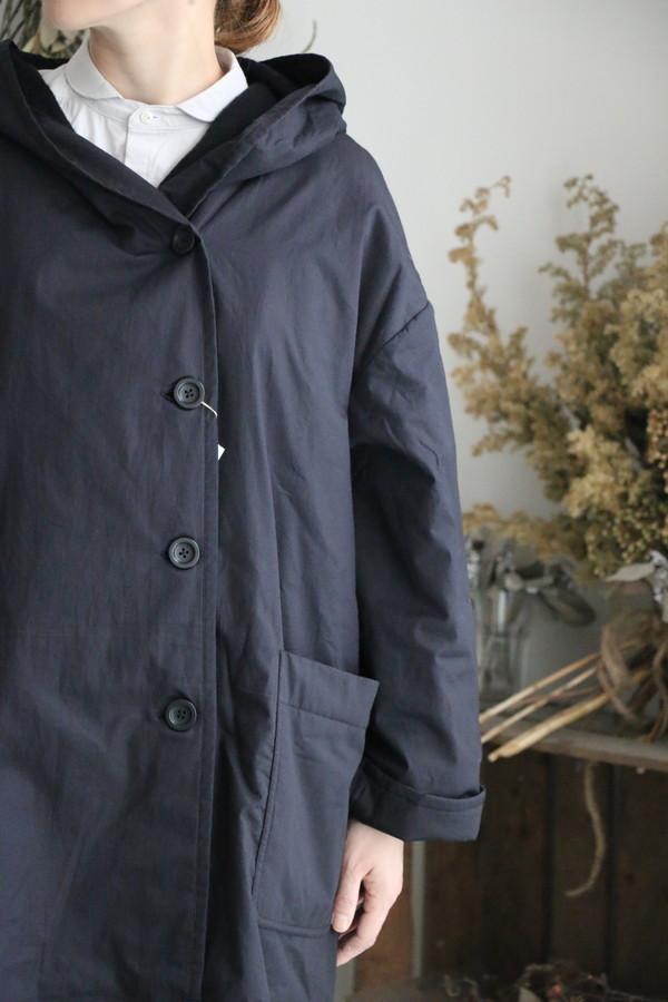 NSL17501 soil hooded coat