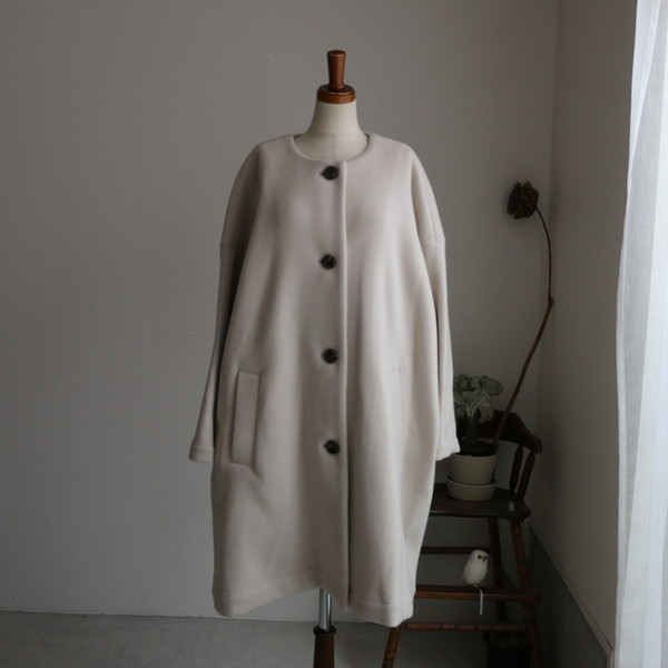 202094 FABRIQUE FABRIQUE en planete over size coat