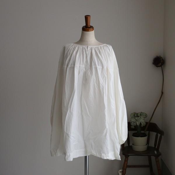vc2204 veritecoeur スモックシャツ 2色