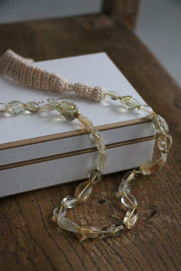 31481371 vlas blomme Knit x Pearl & Quartz NC 3色
