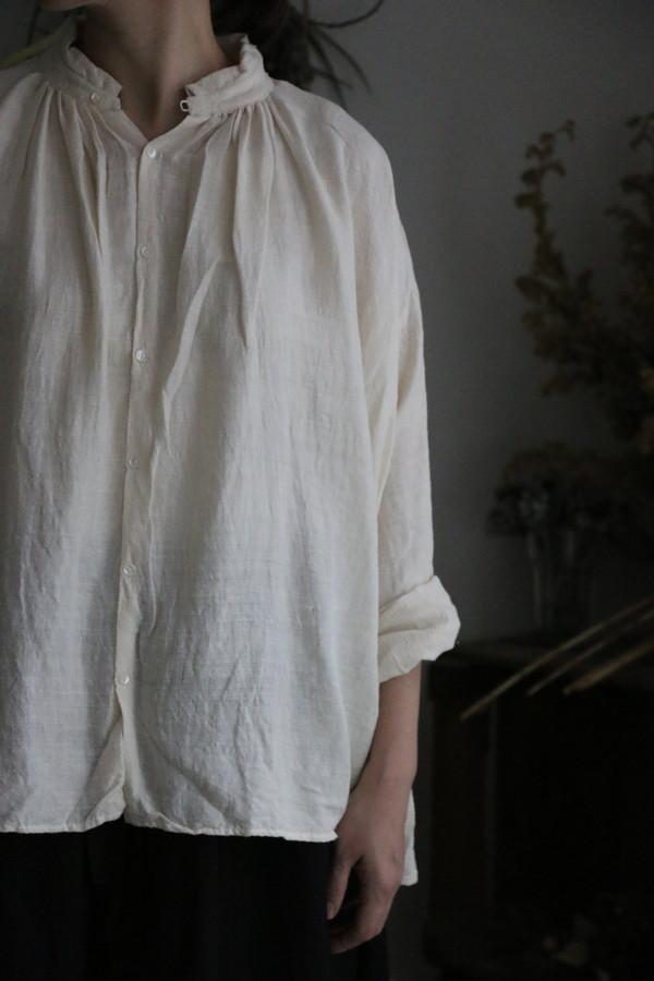 vc2031 veritecoeur Kibata Silk Blouse kibata