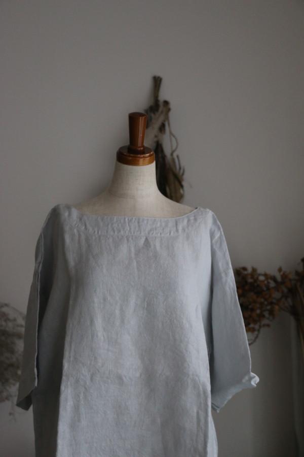 NAM1631L ARMEN boat neck s/sl shirt