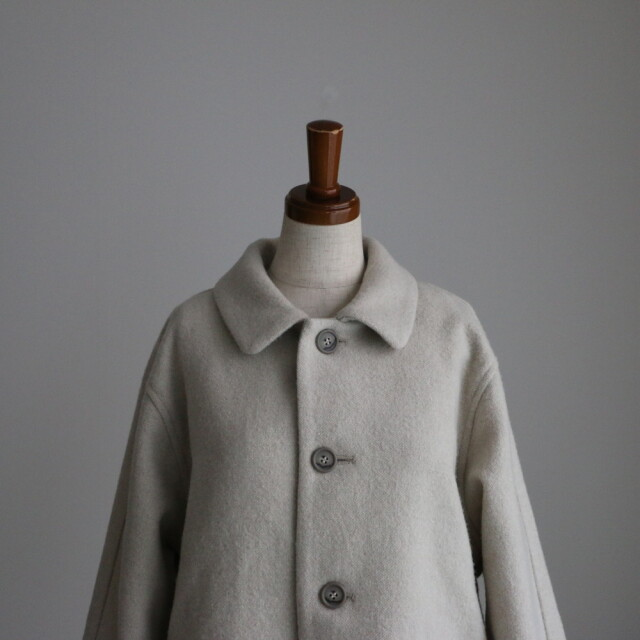 13419301 vlas blomme Airy Twill ブルゾン