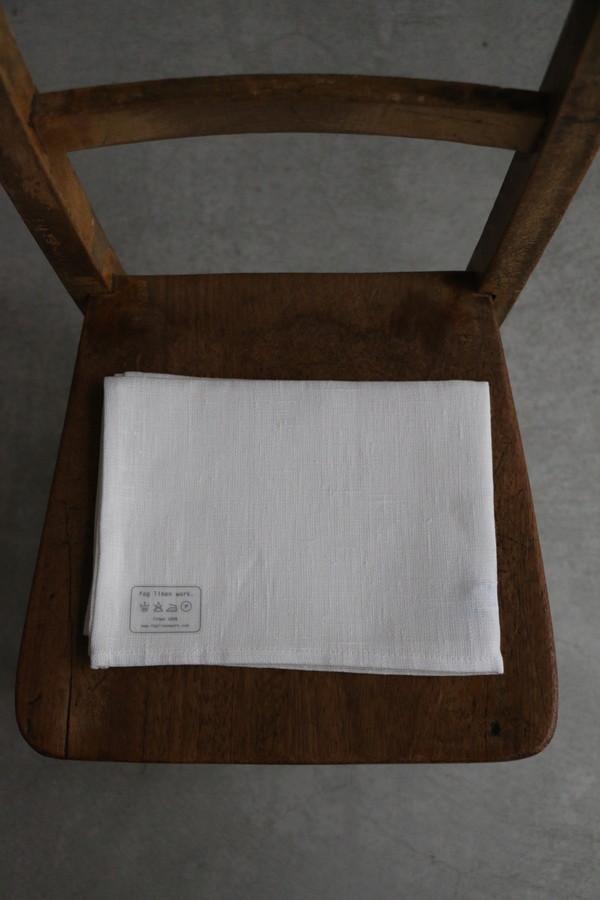LKC001-28 リネンキッチンクロス white 厚地