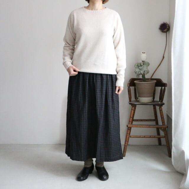 INSL20614 soil gathered wrap skirt