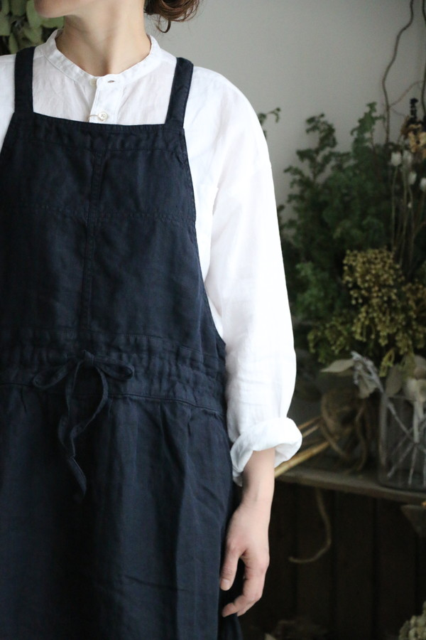NAM1432LH ARMEN apron one piece 2色