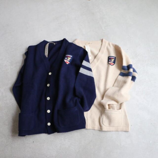 93K-21B 快晴堂 レトロスキー カーディガン 2色