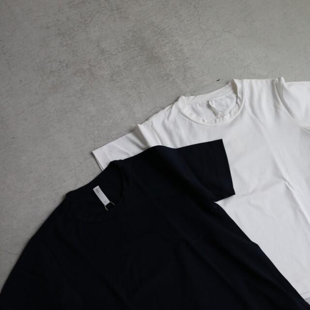 92805 prit 50/2ギザサイロ引き揃え天竺 クルーネックTシャツ 2色