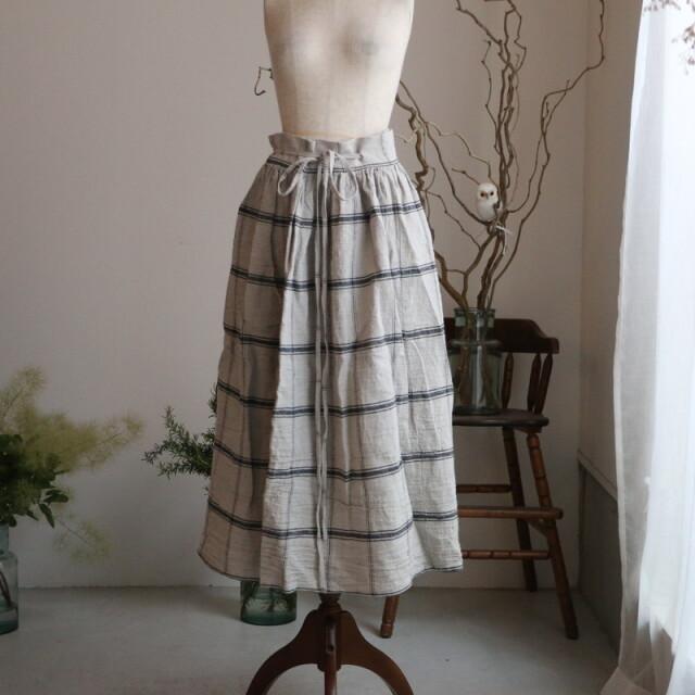 au058 AU GARCONS sara 巻きスカート