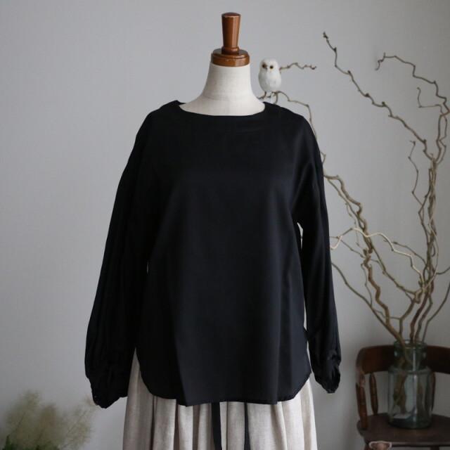 S009 si si si blouse black
