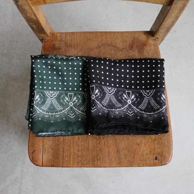 RNAM1752 ARMEN silk SCARF 2色
