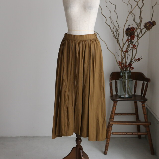 07BF006076 marble SUD EMB ダルサテンスカート