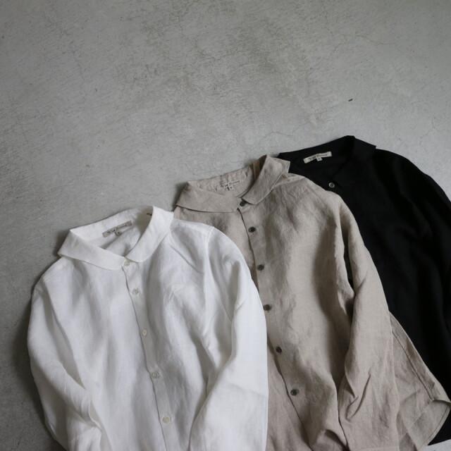 13134999 vlas blomme  KL Heritage 60 セーラーカラーシャツ 3色