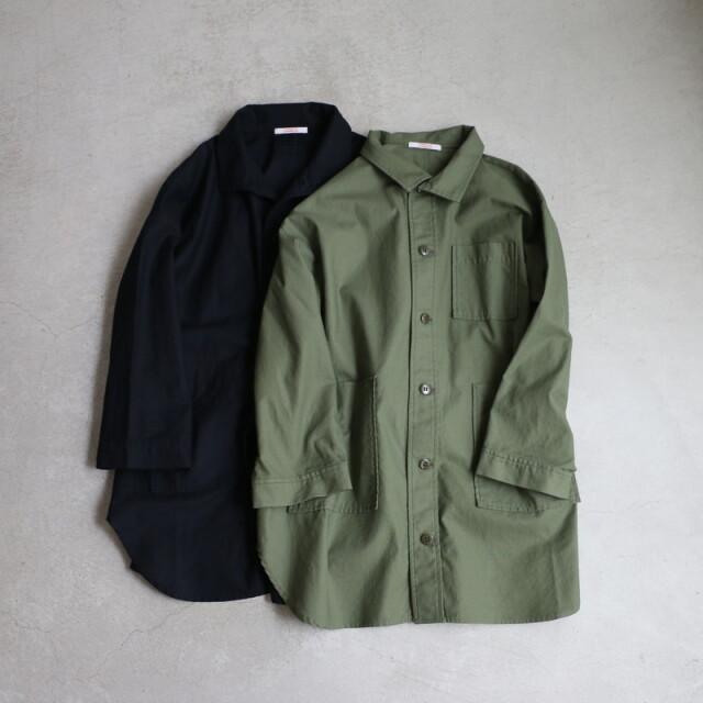 212050 FABRIQUE en planete terre militaly cloth jacket 2色