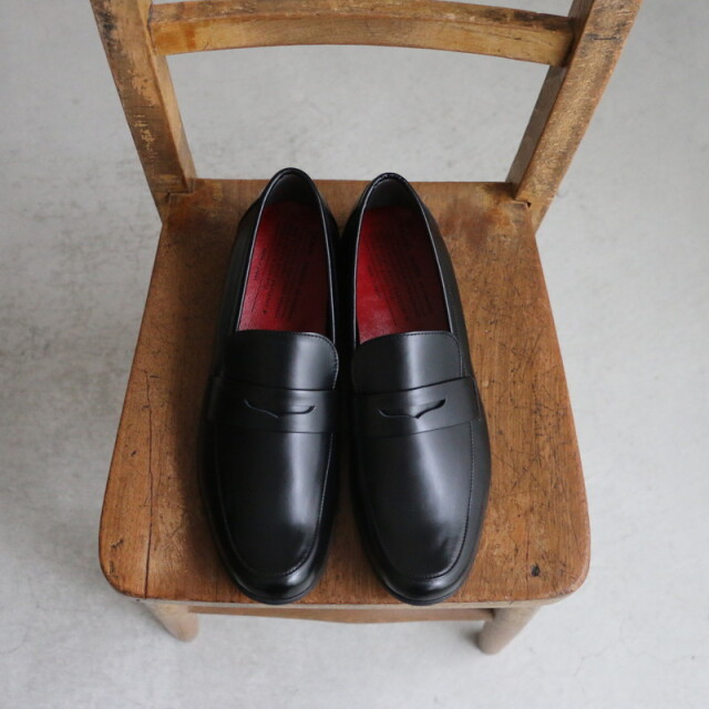 TR-016BLG chausser TRAVEL SHOES エナメルローファー