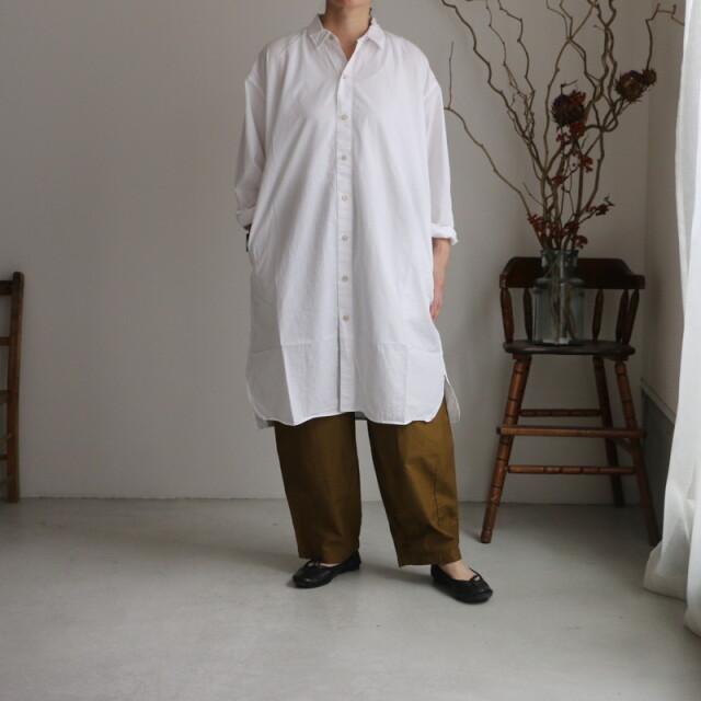 INAM2001 ARMEN utility regular collar long shirt 4色