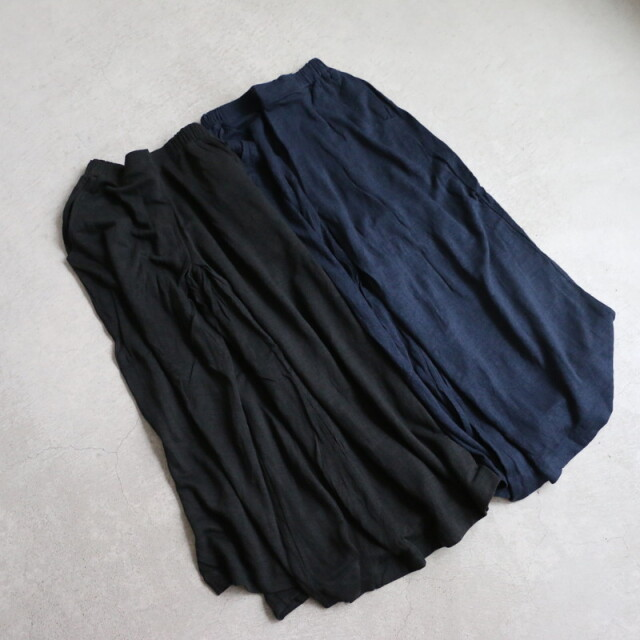 12502899 vlas blomme KL Plain ハカマパンツ 2色