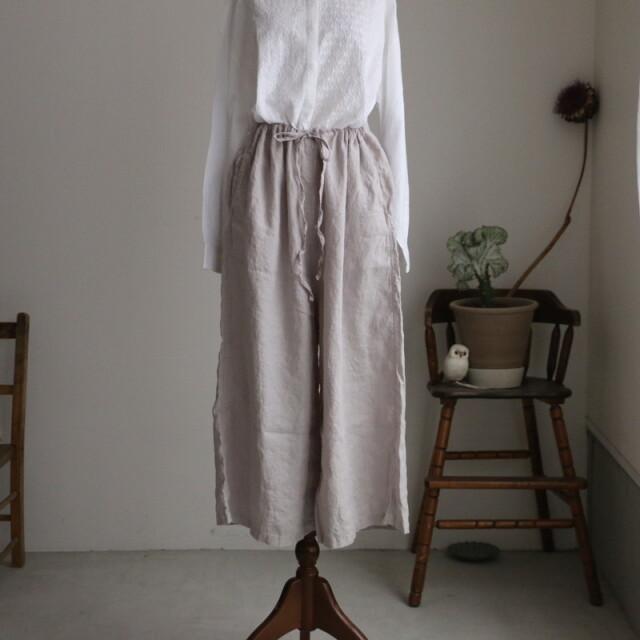 LNHT1713L HTS linen easy pants