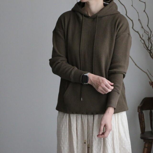 GNSL21543  soil hooded pullover