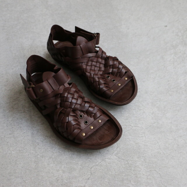 cancun Punto Pigro mesh&ring sandal