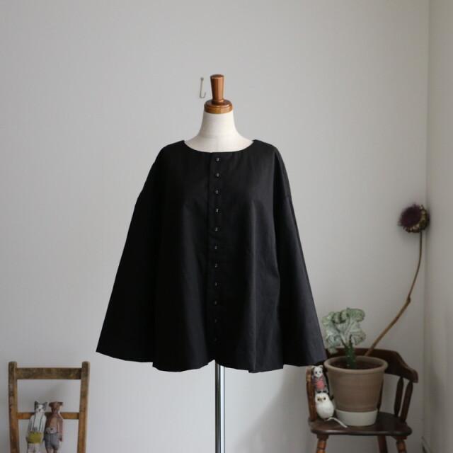 R001  ROBE de PEAU カラーレスジャケット BLACK