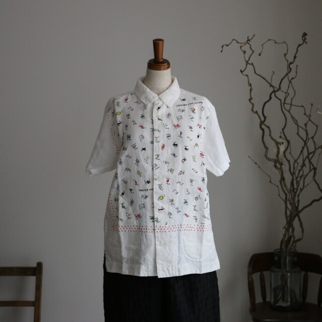 11S37G 快晴堂 カロハシャツ