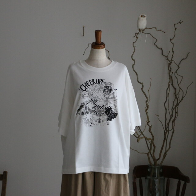 01BM003076 marble SUD cheer up s/s tee