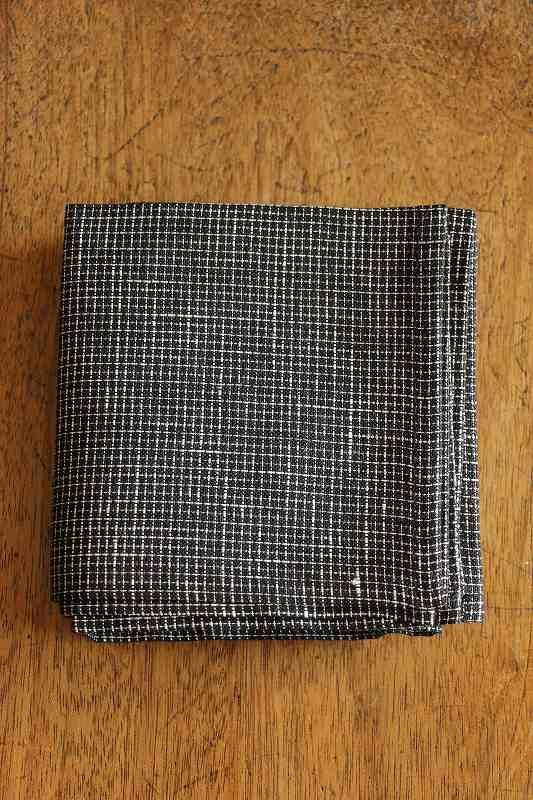 LWH125 fog linen work リネンハンカチ 5色